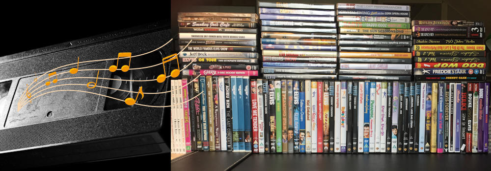 Picture of a part of my DVD collection
